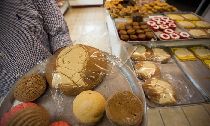Mexican baked goods.  (ENRIQUE CASTRO/AFP/Getty Images)