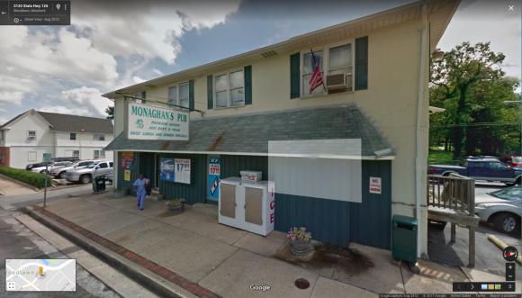Monhagen's Pub in Baltimore, Maryland. (Screenshot via Google Maps)