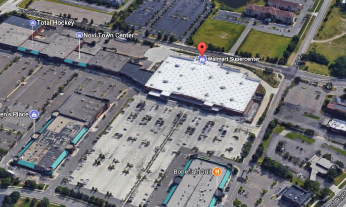 Walmart Superstore in Novi, Mich. (Screenshot via Google Maps)