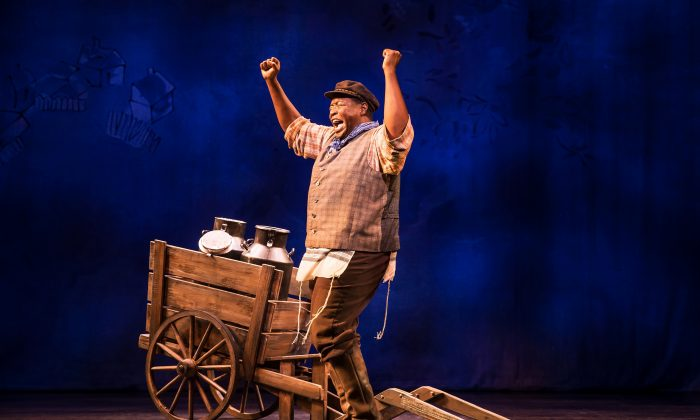 "Chuck Cooper delivers powerful performances in ""Prince of Broadway,"" in old favorites such as ""If I Were a Rich Man"" from ""Fiddler on the Roof."" (Matthew Murphy)"