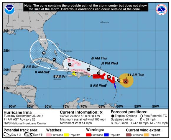 (NHC/NOAA)