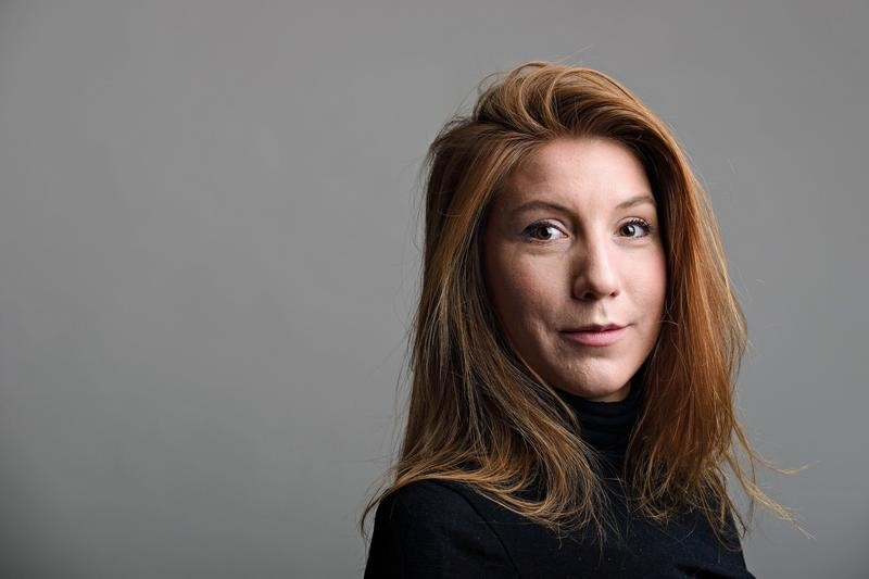 "A photo of Swedish journalist Kim Wall who was aboard a submarine ""UC3 Nautilus"" before it sank. (TT NEWS AGENCY/ Tom Wall Handout via REUTERS)"