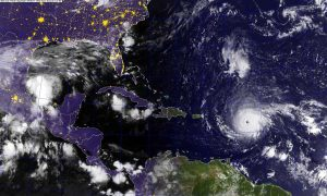 President Trump Watching 'Largest Ever Recorded' Hurricane Irma Closely