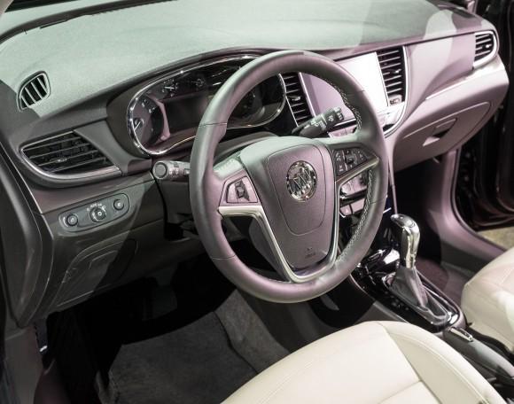 2017 Buick Encore interior (Buick Canada)