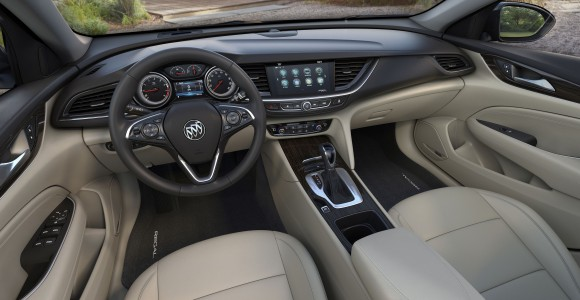2018 Buick Regal Sportback interior (Buick Canada)