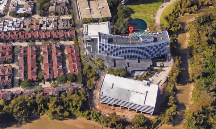 Omni Houston Hotel. (Screenshot via Google Maps)