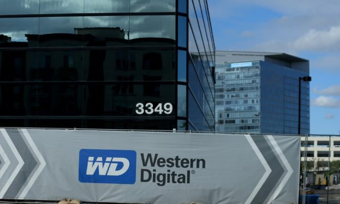 A Western Digital office building under construction is shown in Irvine, California on Jan. 24, 2017.  (REUTERS/Mike Blake/File Photo)