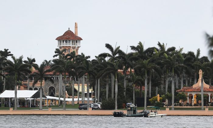 The Mar-a-Lago resort is seen on April 6, 2017 in West Palm Beach, Florida. (Joe Raedle/Getty Images)