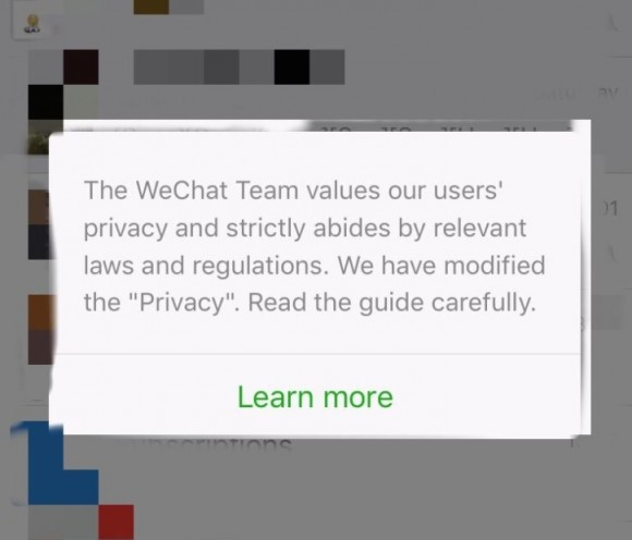 WeChat Confirms: It Shares Just About All Private Data With