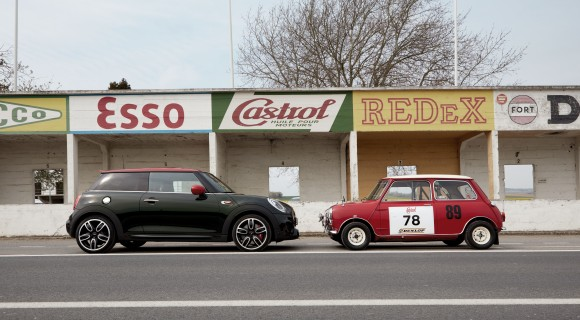 The evolution of the MINI-new and old (MINI/BMW Group)