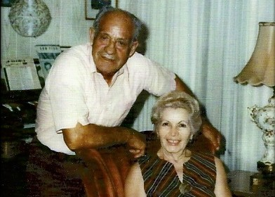 Carl Florio, born in New Haven, Connecticut, in 1905. Retired to Florida in 1995, where this photo was taken when he was in his 70's. (Photographed by Barbara Florio Graham)