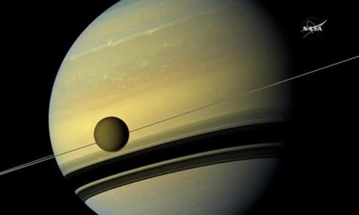 NASA's Cassini spacecraft in a stock photo. (NASA)