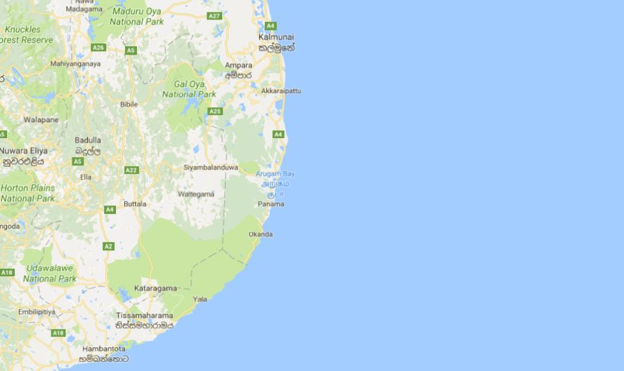 McClean, of Thames Ditton, Surrey, U.K., was dragged into the water in Sri Lanka's Arugam Bay, witnesses told the BBC. (Google Maps)