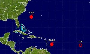 Hurricane Maria Forms in Atlantic; Warnings Issued for St. Kitts, Nevis, and Montserrat