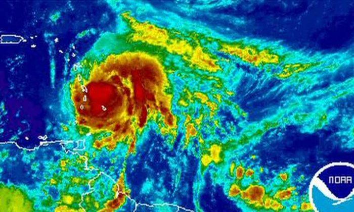 Animation of Hurricane Maria (NOAA)