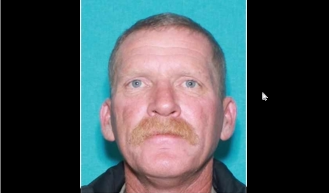Bryan Lee Batchelor, 48, fired on four deputies and rammed three police vehicles with his truck after firefighters attempted to put out his house fire. (Bowie County Sheriff's Office)
