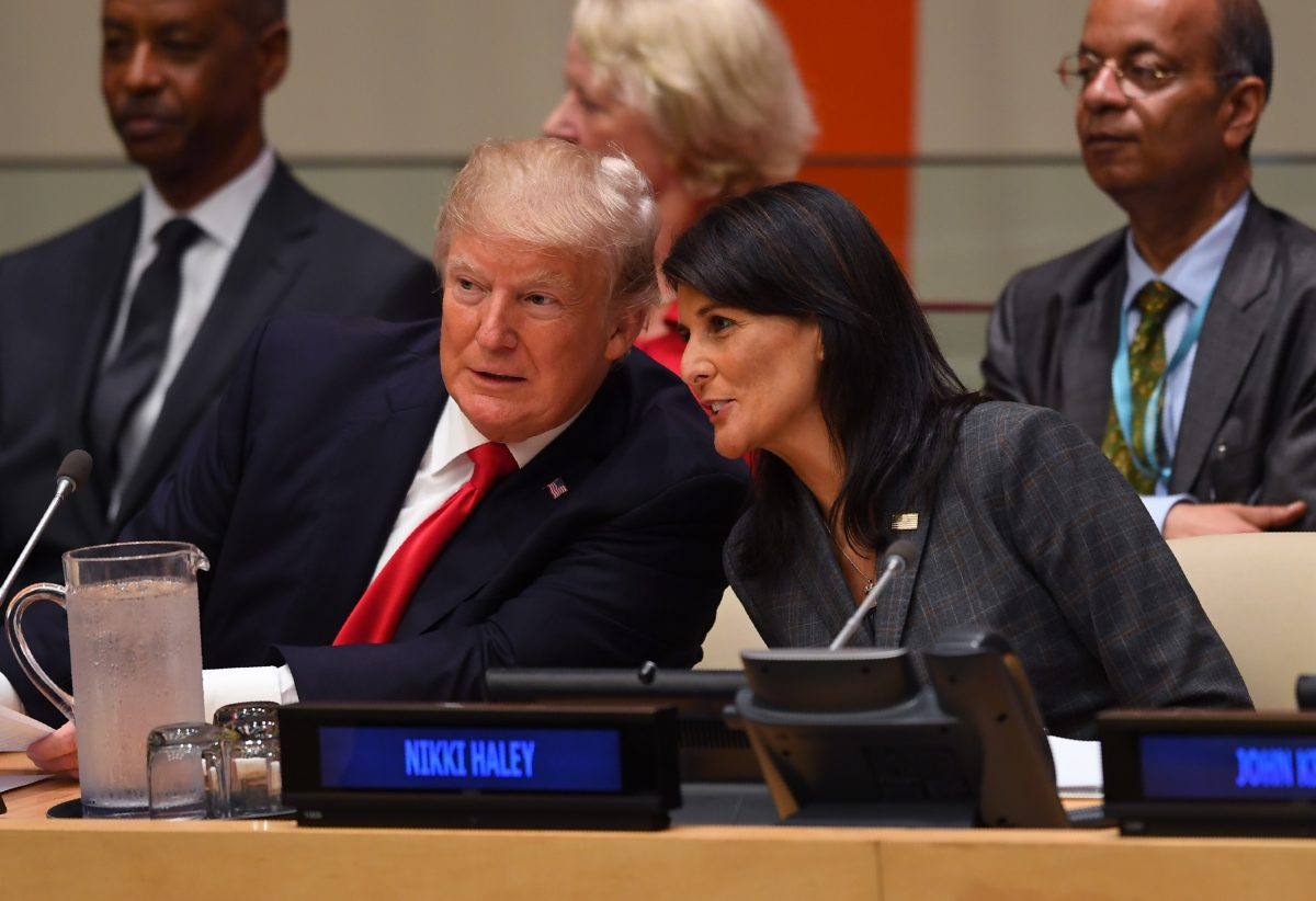 haley and trump