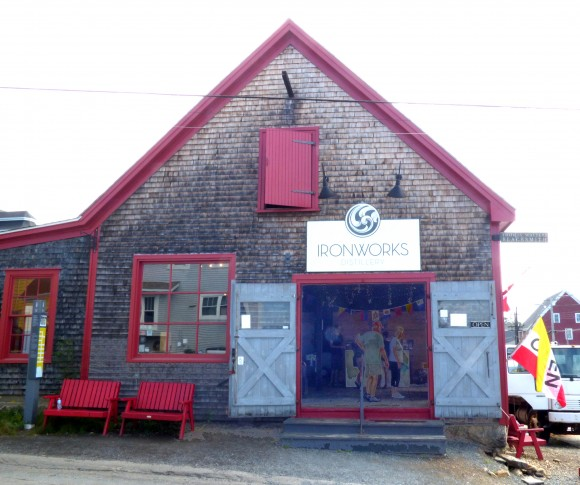 Ironworks Distillery in Lunenberg is housed in an 1892 marine blacksmith's building. (Manos Angelakis)