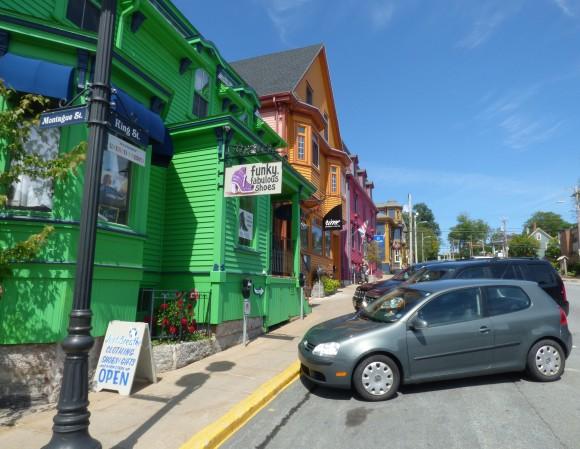 Lunenberg's colourful houses. (Manos Angelakis)