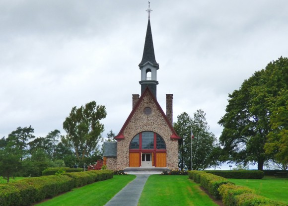 The memorial church at Grand-Pré National Historic Site. (Manos Angelakis)