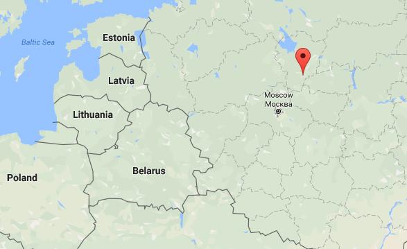 Rostov, Russia. (Screenshot via Google Maps)