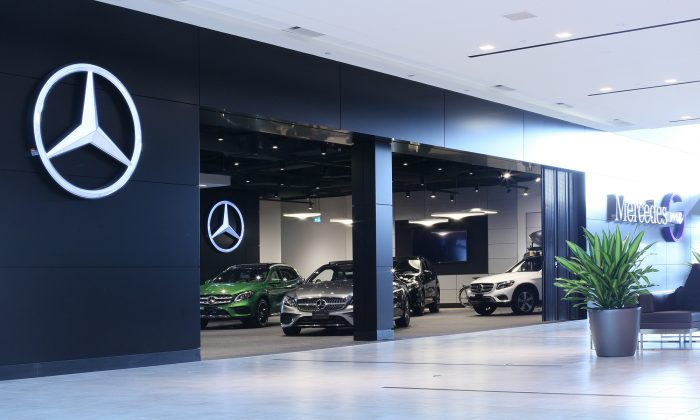 Storefront (Mercedes-Benz Canada)