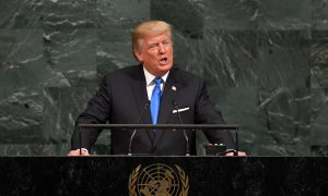 Trump Lays Out His Vision for World in UN Speech