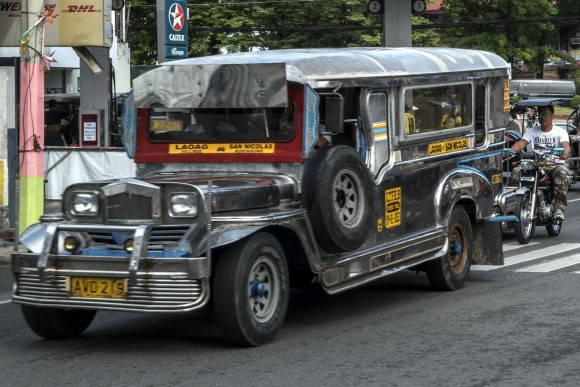 Jeepneys are the most popular means of public transportation in the Philippines. (Mohammad Reza Amerinia)