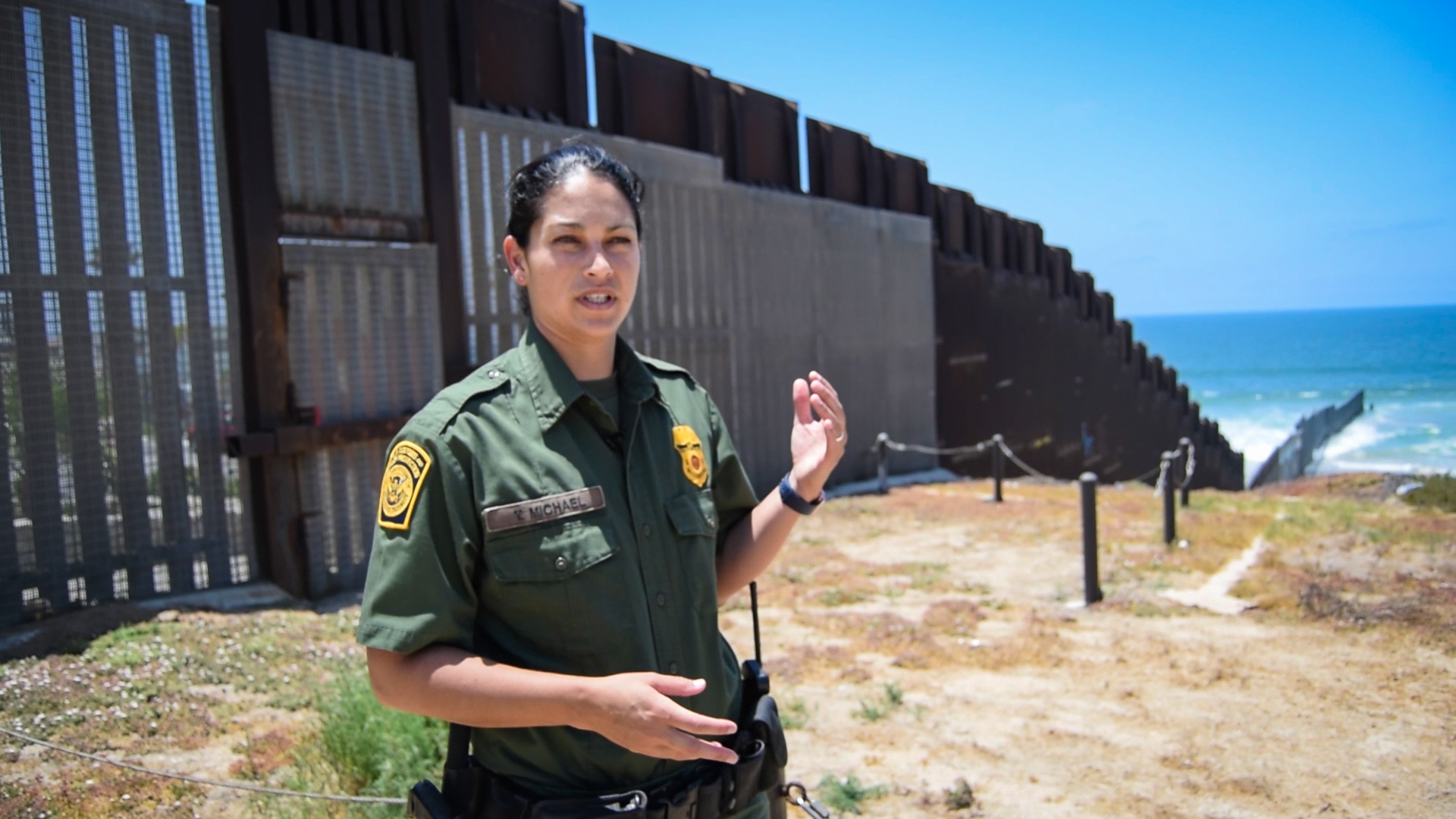 Reports: Border Wall Construction Underway in San Diego, California