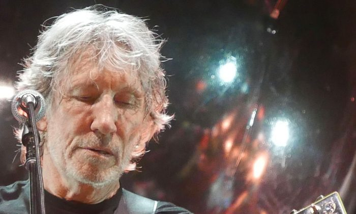 Roger Waters performing in San Jose during his Us + Them Tour on June 7, 2017.  (Davidwbaker/Wikipedia)