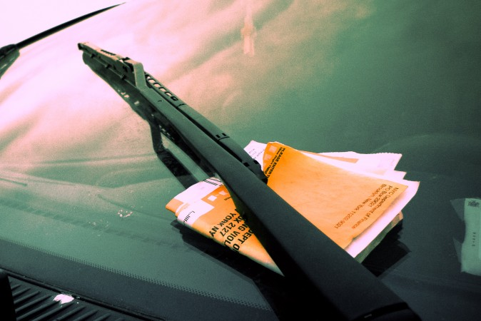 A traffic ticket. (Public Domain)