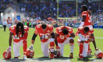 College Football Player Cut From Team After Kneeling for Anthem