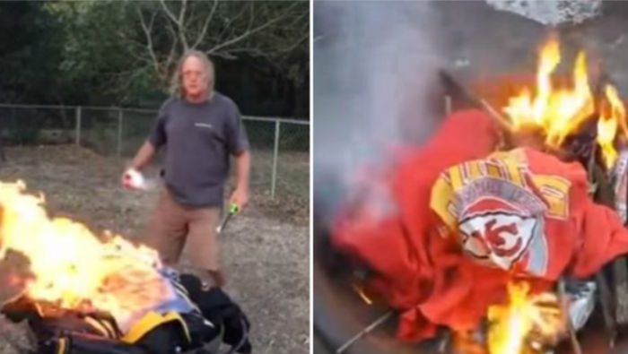 cheap for discount 73d4e 7bbc8 Fans Are Burning Their NFL Team Jerseys Now