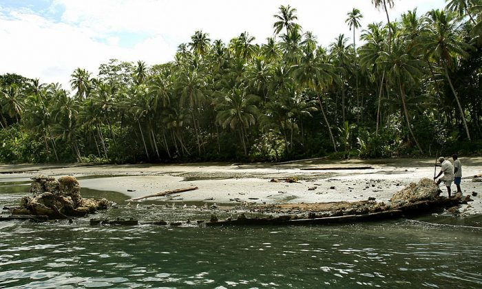 Ranongga Island of the Solomon Islands. (WILLIAM WEST/AFP/Getty Images)
