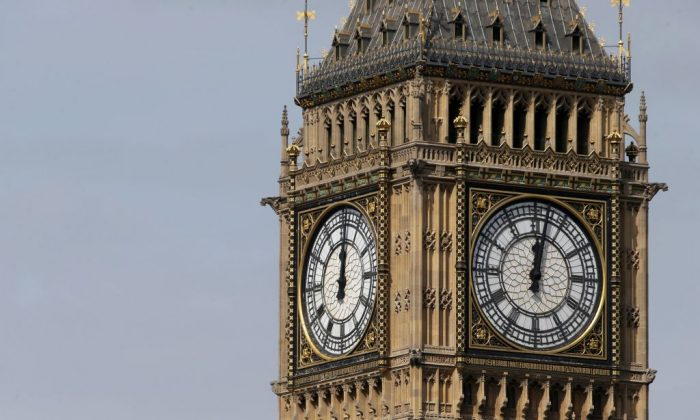 Big Ben's chimes will be silenced for four years during renovation works, except on special occasions. (Daniel Leal-Olivas/AFP/Getty Images)