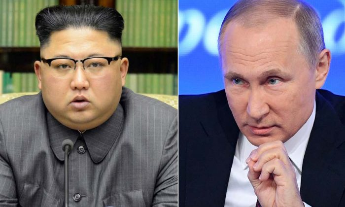 This combined photo shows North Korean leader Kim Jong-un (L) (KCNA via REUTERS)