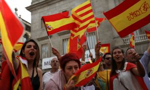 Madrid Scornful as Catalan Leader Waters Down Declaration of Independence