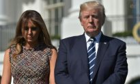 President and First Lady Hold Moment of Silence for Las Vegas Shooting Victims