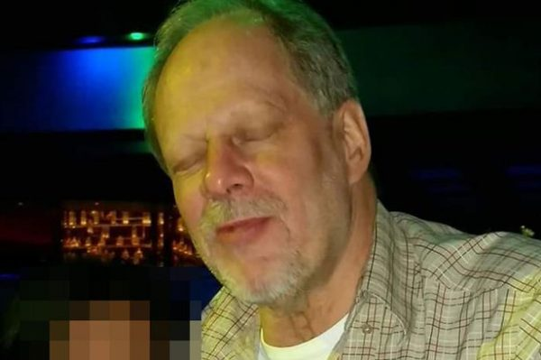 The suspected gunman, Stephen Paddock, in the Las Vegas mass