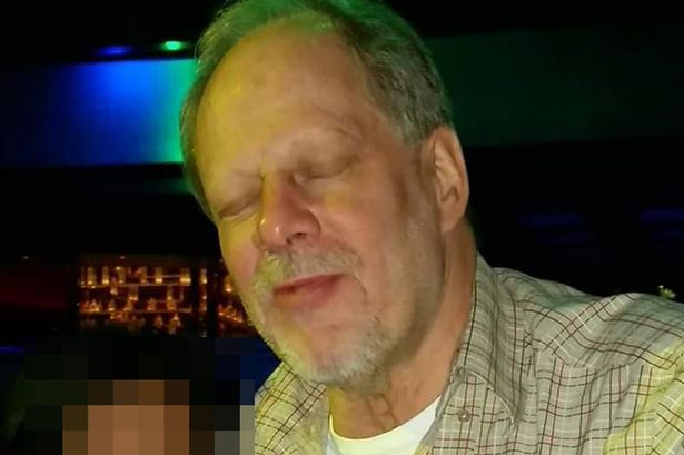 The suspected gunman, Stephen Paddock, in the Las Vegas mass shooting. (FBI)