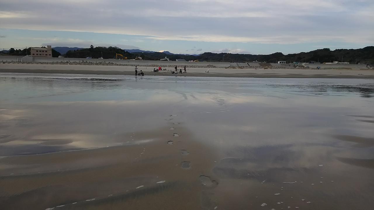 A file photo of beaches contaminated from the Fukushima Dai-ichi Nuclear Power Plant disaster in 2011. (Souichiro Teriyaki/Kanazawa University)
