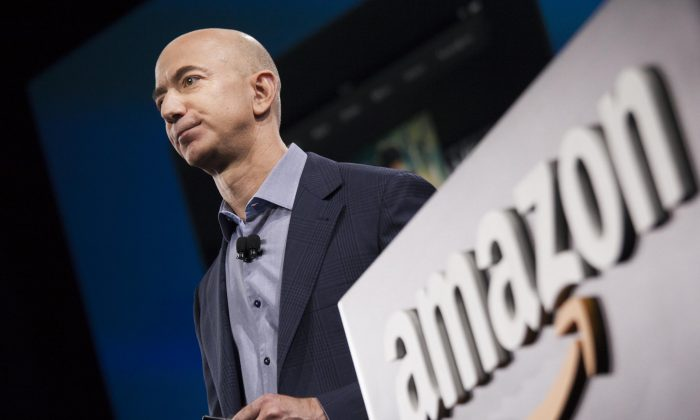 Amazon founder and CEO Jeff Bezos. The company has been ordered to pay almost $300 million in back taxes to Luxembourg (David Ryder/Getty Images)