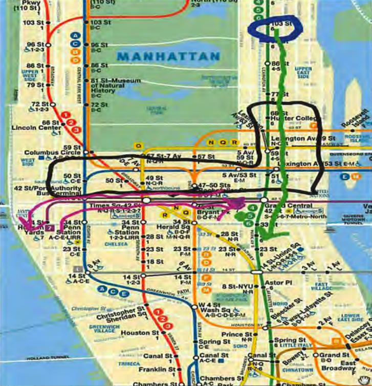 Subway Map From Penn Station To Times Square.3 Isis Followers Arrested For Plot To Bomb Times Square And Nyc Subway