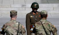 North Korean Soldier, Shot and Wounded, Defects to South