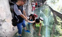 The Glass Bridge in China That's Made to Crack Under Tourists' Feet