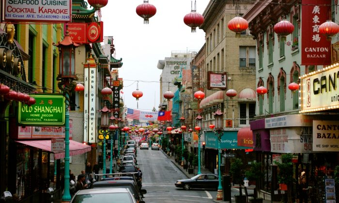 San Francisco's vibrant Chinatown is the largest in the United States. (Trevor Piper/Epoch Times)