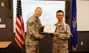 From China Forced Labor Camp Survivor to USAF Warrior