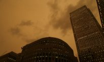 The Strange Orange Sun Could Return to the UK
