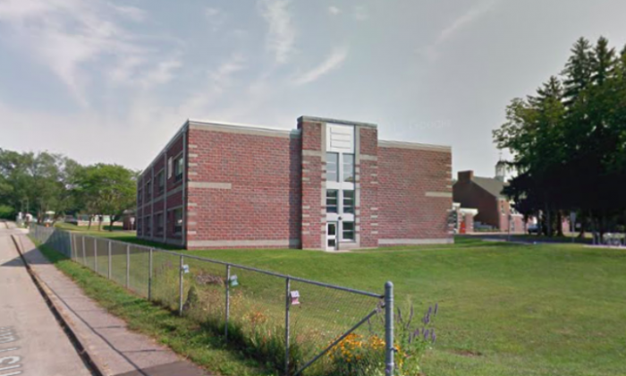 Boyden Elementary School in Walpole, Massachusetts. (Screenshot via Google Maps)