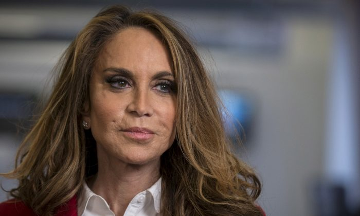 Political blogger Pamela Geller, American Freedom Defense Initiative's Houston-based founder, speaks during an interview in New York, NY, U.S. on May 28, 2015 (Reuters/Brendan McDermid/File Photo)